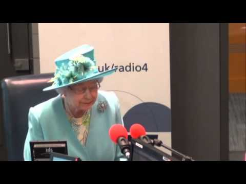 Queen opens BBC's New Broadcasting House