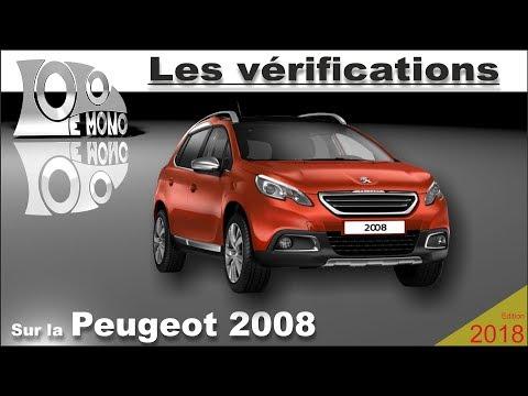 Peugeot 2008:  vérifications et sécurité routière