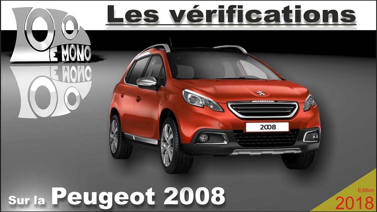 Peugeot 2008 Verifications Et Securite Routiere