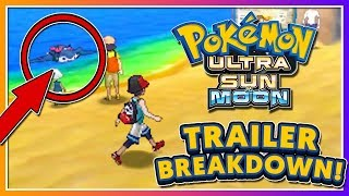Pokémon Ultra Sun & Ultra Moon - TRAILER BREAKDOWN (NEW RIDE POKEMON + STORY DETAILS)