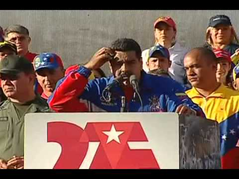 Maduro anuncia sanciones contra gobierno de Estados Unidos: Visado obligatorio, etc.
