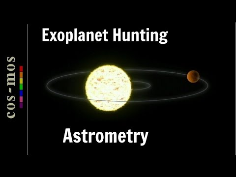 Astrometry Method to Detect Exoplanets (method 5)