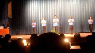 Zeta Phi Beta Sorority, Inc, Rho Alpha Chapter Spring 2010 Step Show Pt. 1 of 2