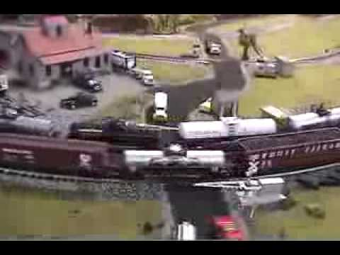 Model Trains – Huge Model Train Set