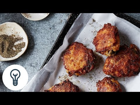 Judy Hesser's Oven-Fried Chicken | Genius Recipes