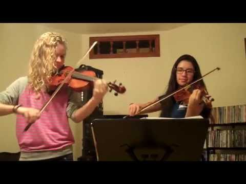 A Whole New World from Aladdin  Violin Duet   Kimberly McDonough and Katherine Stennett