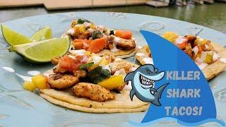 Killer Shark Tacos On The Blackstone Griddle!