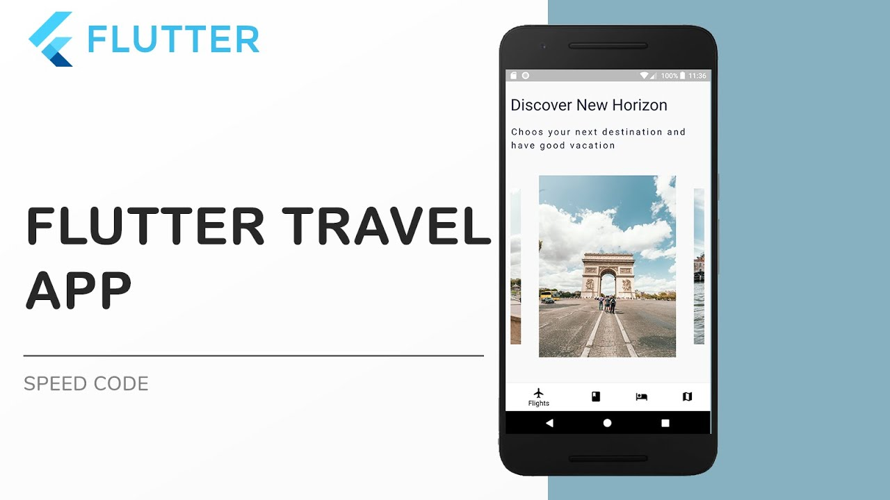 Flutter Mobile App Developement: Make a Travel App in Flutter