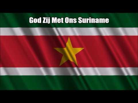 Suriname National Anthem (God Zij Met Ons Suriname) - Nightcore Style With Lyrics