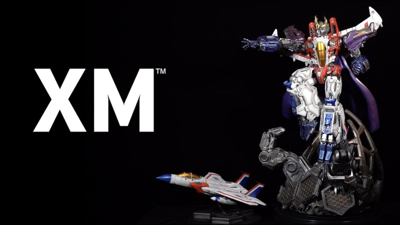 XM Studios Starscream Official Assembly Video