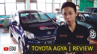 Toyota Agya 1.0 G: Review Engine, Drivetrain, + Chassis
