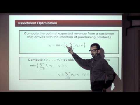 CAM Colloquium - Huseyin Topaloglu: Revenue Management Under Markov Chain Choice Model