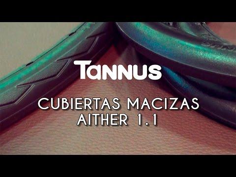 No más pinchazos con las cubiertas macizas Tannus Aither 11