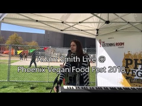 Adam Smith Live @ Phoenix Vegan Food Festival 2018 Highlights