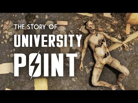 The Full Story of University Point - Fallout 4 Lore