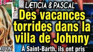 Laeticia Hallyday, Pascal – Des vacances torrides dans la villa de Johnny – Déjà à St Barth, (photo)
