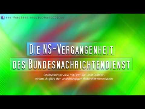 Die NS-Vergangenheit des Bundesnachrichtendienst - Ein Interview mit Prof. Dr. Düffer