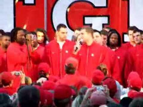 Rutgers, 2006 Texas Bowl, Brian Leonard