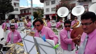 gallito paso doble banda de músicos vírgen del carmen bambamarca