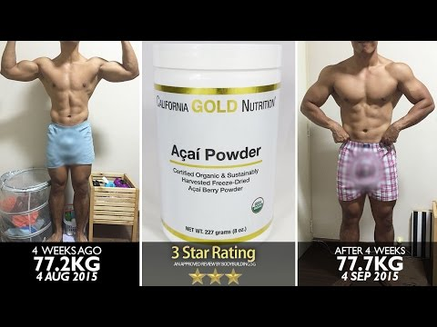 California Gold Nutrition Organic Acai Powder