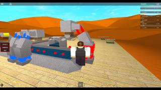 ROBLOX Star Wars tycoon Part 1 Qui Gon Jin breaks in! (That rymes)