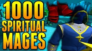 Runescape - Loot From 1000 Spiritual Mages