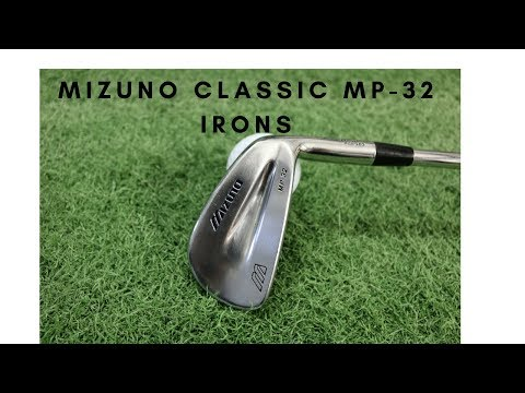 Mizuno Classic - MP-32 Irons.