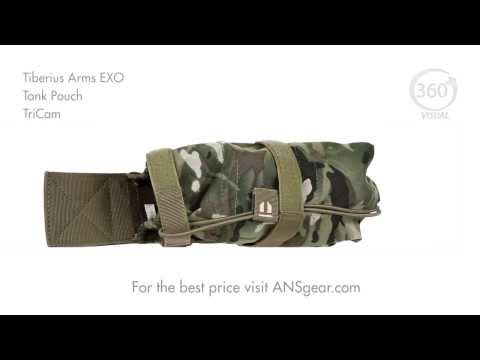 Tiberius Arms EXO Tank Pouch - TriCam - Visual 360