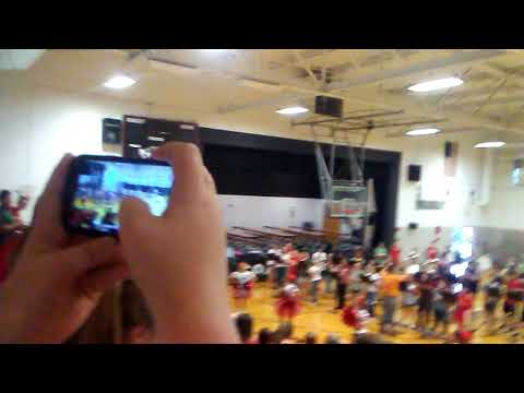 Dawson Bryant middle school pep rally