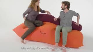 De zitzak handleiding van Terapy voor Baloo & Toby - beanbag userguide Terapy Baloo & Toby