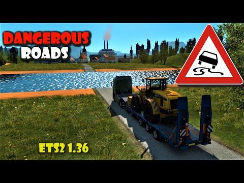 Dangerous Roads - Peru Map (ETS2 V1.36) Euro Truck Simulator 2
