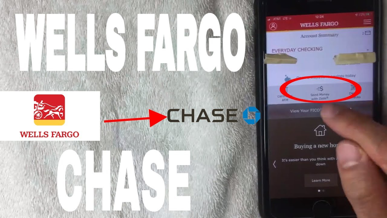 Money From Wells Fargo To Chase Bank