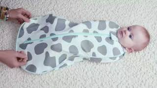 Video: Woombie Grow with Me Air Swaddle 0-18 months