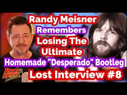 "Randy Meisner Lost Ultimate Eagles ""Desperado"" Homemade Bootleg"