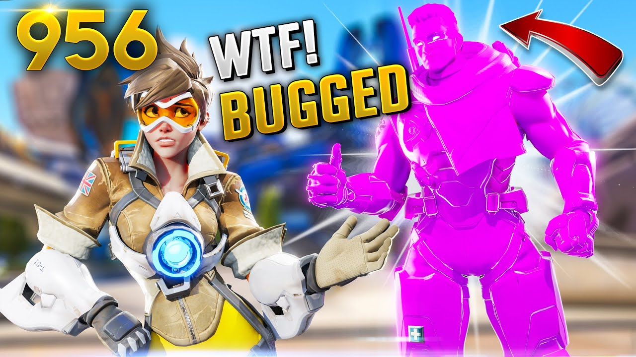 NEVER SEEN BAPTIST BROKEN BUG!! | Overwatch Daily Moments Ep. 956  (Funny and Random Moments) thumbnail