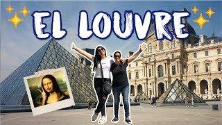 ir al museo MÁS FAMOSO DEL MUNDO sin TOUR! el LOUVRE 😱😭😍 | MPV en Francia #3