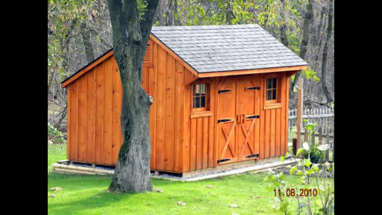 Small home garden building ideas youtube for Small outbuilding plans