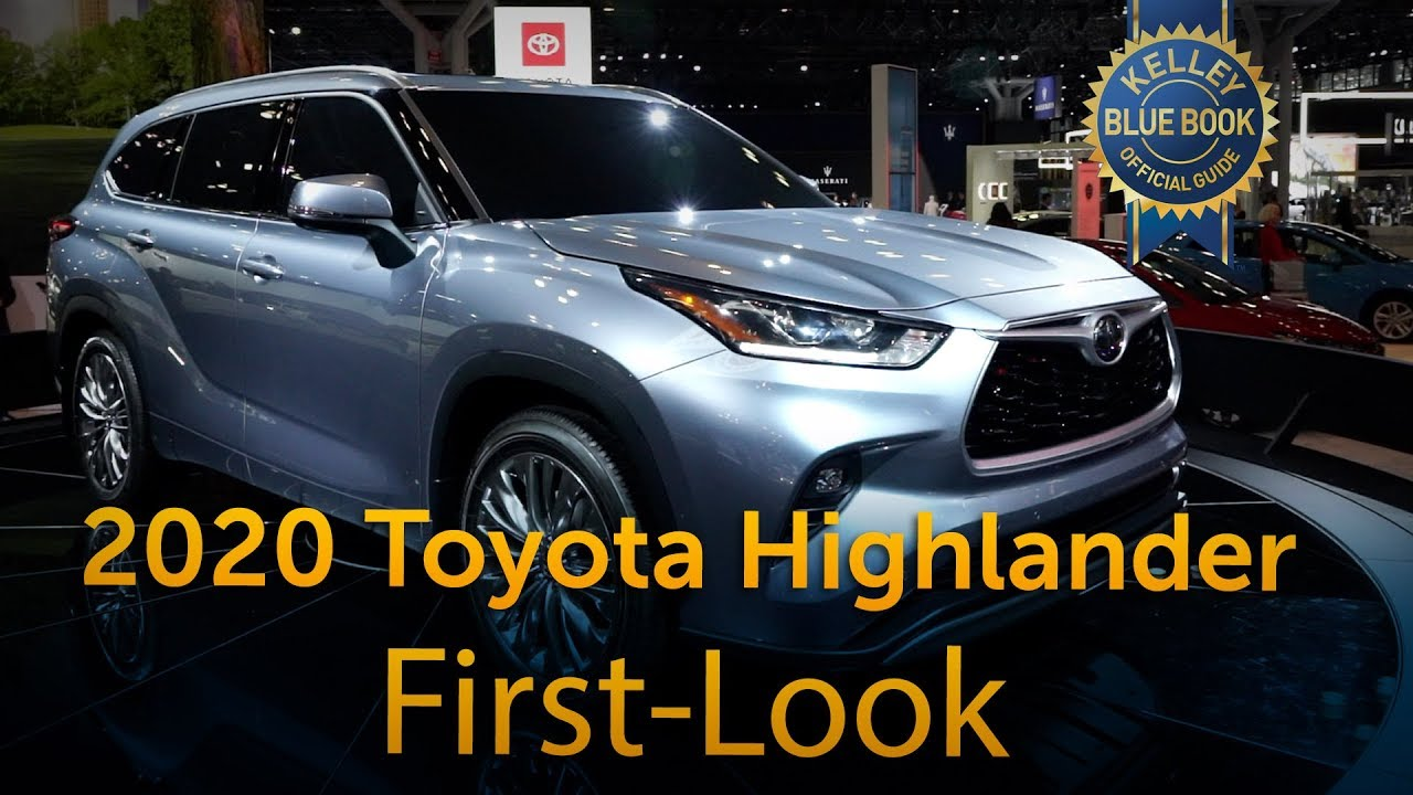 2020 Toyota Highlander Redesign & Release Date >> 2020 Toyota Highlander First Look