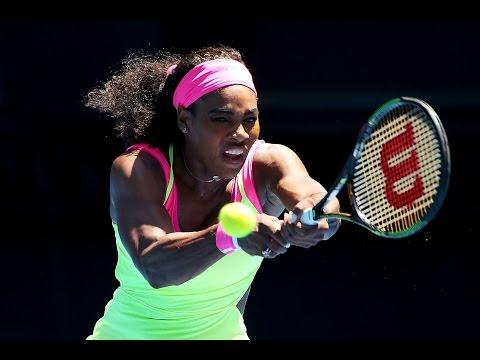 Serena Williams vs Vera Zvonareva Highlights HD Australian Open 2015