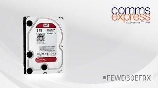 Western Digital 3TB Red 64MB 3.5 Desktop Sata 6GB Hard Drive