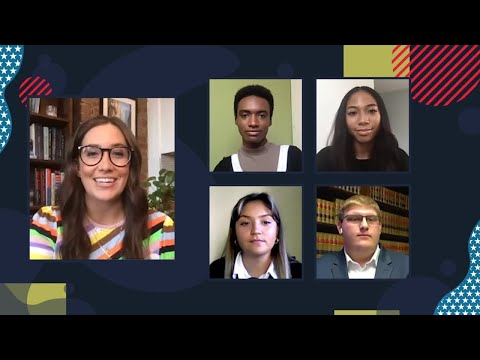 Teens discuss the future of democracy with NBC's Savannah Sellers