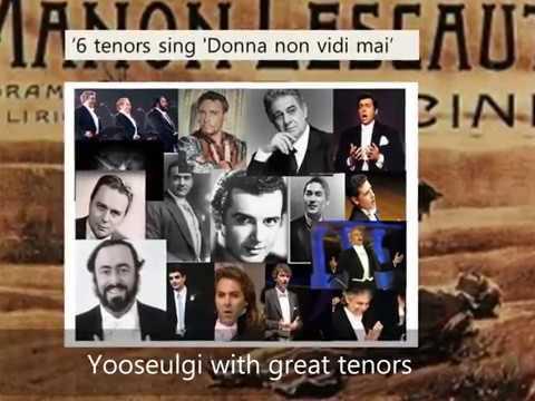 'Donna non vidi mai', Yooseulgi with great tenors of the century. 유슬기, 세기의 테너들과 함께부르는 푸치니 아리아