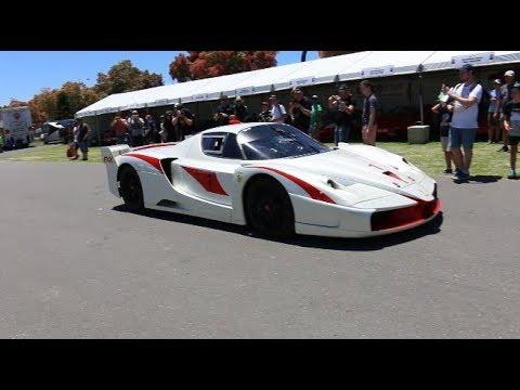 Ferrari FXX Up Close At The Adelaide Motorsport Festival | FocusOnDetailing