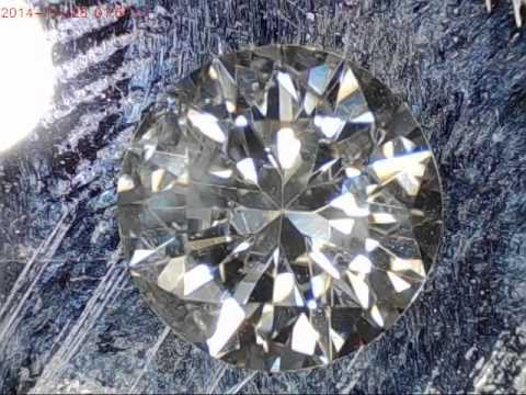 Diamond Gia J color, I2 - 3batu.com - YouTube