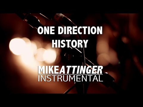 One Direction - History (Higher key / female key) - Karaoke / Lyrics / Instrumental