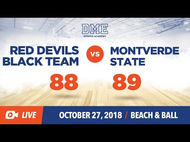 MonteVerde State vs Red Devils BL