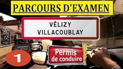 Examen permis de conduire Vélizy-Villacoublay #1