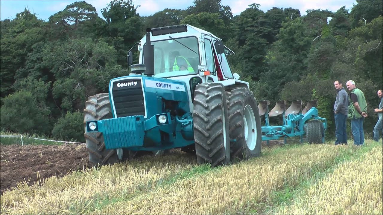 ford 8n kaufen bt openreach master socket 5c wiring diagram county tractor ploughing up steep hill youtube