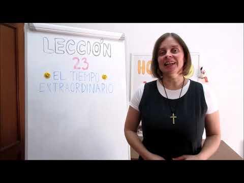 Hola amigos - 23. lekce španělštiny s misionářkou