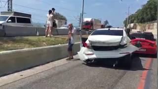 Авария на Малом Ахуне